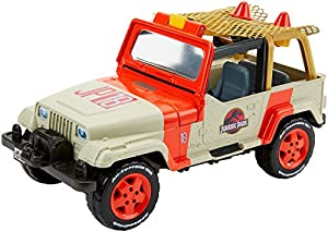 Matchbox Jurassic World Jeep Wrangler & Rescue Net