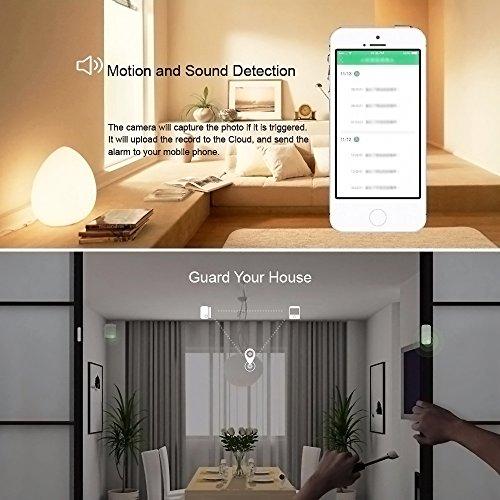 Orvibo Smart Home Ip Camera Wireless Wifi Wall Mount