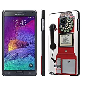 NakedShield Samsung Galaxy Note 4 (Pay Phone) SLIM Art Phone Cover Case