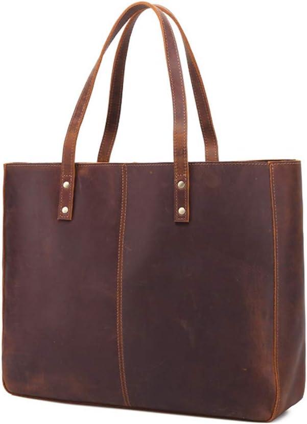 CIGONG Fashion Vintage Leather Shoulder Bag Large Capacity Lady Bags