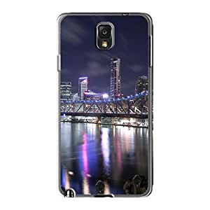 JohnPrimeauMaurice Samsung Galaxy Note 3 Excellent Hard Cell-phone Case Unique Design Beautiful Beautiful Bridges Free Magnificent Bridge Skin [uxR25834Jreo]