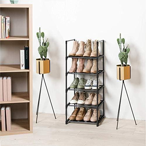 Shoe Rack, Sturdy Metal Shoe Rack Organizer,Narrow Shoe Rack,Shoe Racks for Closets,Shoes Rack,Shoe Stand,Shoe Shelf (5 Tier)
