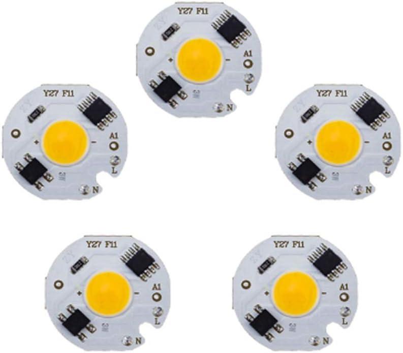 Bulufree Lampada Chip L-ED Bianco Caldo 10W COB 220V IC Smart No Need Driver Lampada L-ED per proiettore Spotlight Illuminazione Fai da Te