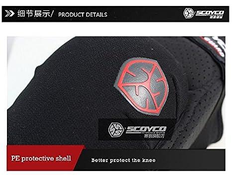 Scoyco K16 Motorcycle Racing Knee Guards Motocross MTB Shin Protection Pads Braces X-Large
