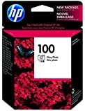 HP 100 Gray Photo Original Ink Cartridge (C9368AN)
