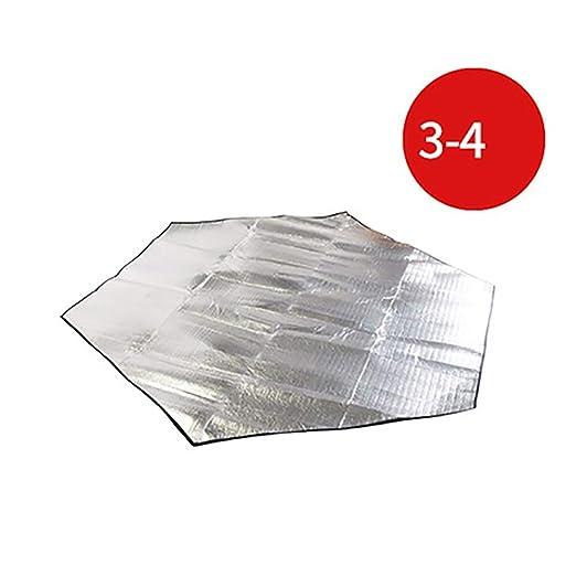 BINGFENG Película Exterior de Aluminio Estera Engrosamiento ...