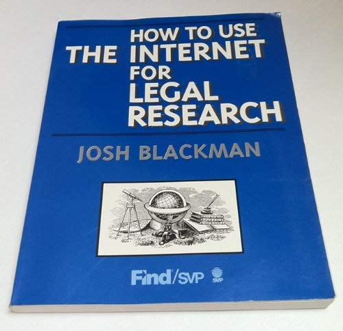 Legal research using the Internet