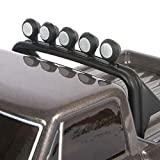 Axial SCX24 1967 Chevrolet C10 RC Crawler 4WD Truck RTR with LED Lights, 3-Ch 2.4GHz Transmitter, Battery, and USB Charger: (Dark Silver) AXI00001T2
