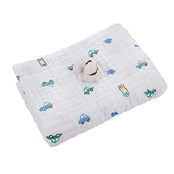 Huayue Toallitas para bebé Muslin Swaddle Blanket Toalla para recién nacido y baño 6 capas Toallitas de algodón para mascotas Toalla extra suave Ducha de ...