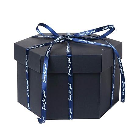 socoola DIY Álbum De Fotos Sorpresa Amor Explosión Caja Regalo para Aniversario Libro De Recuerdos Cumpleaños para Niñas Regalo De San Valentín 42 * 39.3CM B3: Amazon.es: Hogar