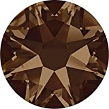 2000, 2058 & 2088 Swarovski Flatback Crystals Non Hotfix Smoked Topaz | SS20 (4.7mm) - Pack of 1440 (Wholesale) | Small & Wholesale Packs | Free Delivery