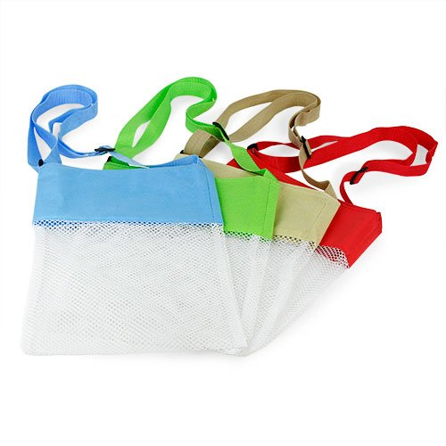 Seashell Beach Mesh Bags - Set of 4