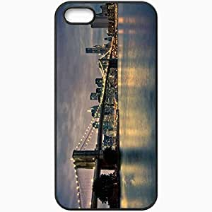 Protective Case Back Cover For iPhone 5 5S Case Bridge Black
