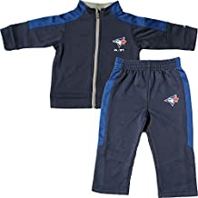 Toronto Blue Jays Infant Ball Boy Zip-Up Jacket & Pant Set