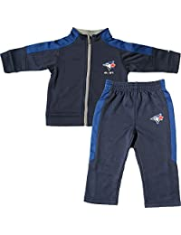 Toronto Blue Jays Toddler Ball Boy Zip-Up Jacket & Pant Set