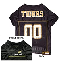 Domestic Pet Ncaa Dog Clothing Missouri Tigers Jersey Xs Excellent