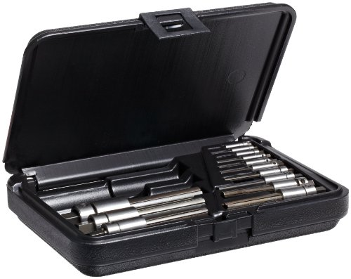 Walton 18013 13 Piece Multi Flute Tap Extractor Set With Square Shank