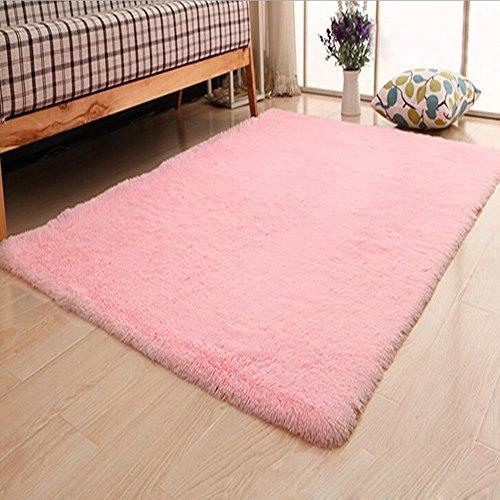 "XHSP Super Soft 1.8"" Thick Shag Living Room Carpet Bedroom"