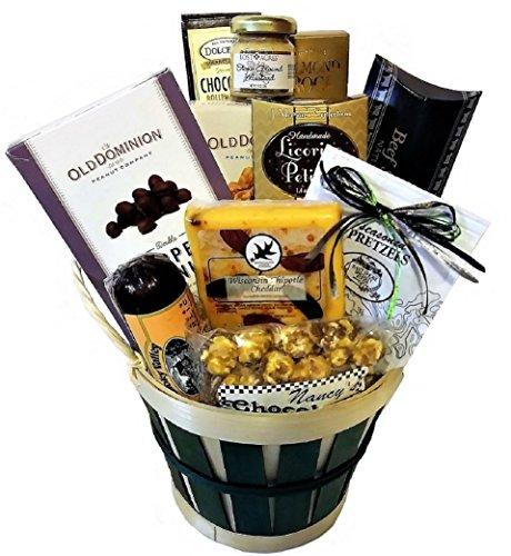Sweet & Salty Snacker Barrel by Goldspan Gift Baskets