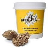 Mandelin Natural Almond Paste (1 lb/16 oz), 50% Almonds, 50% Sugar
