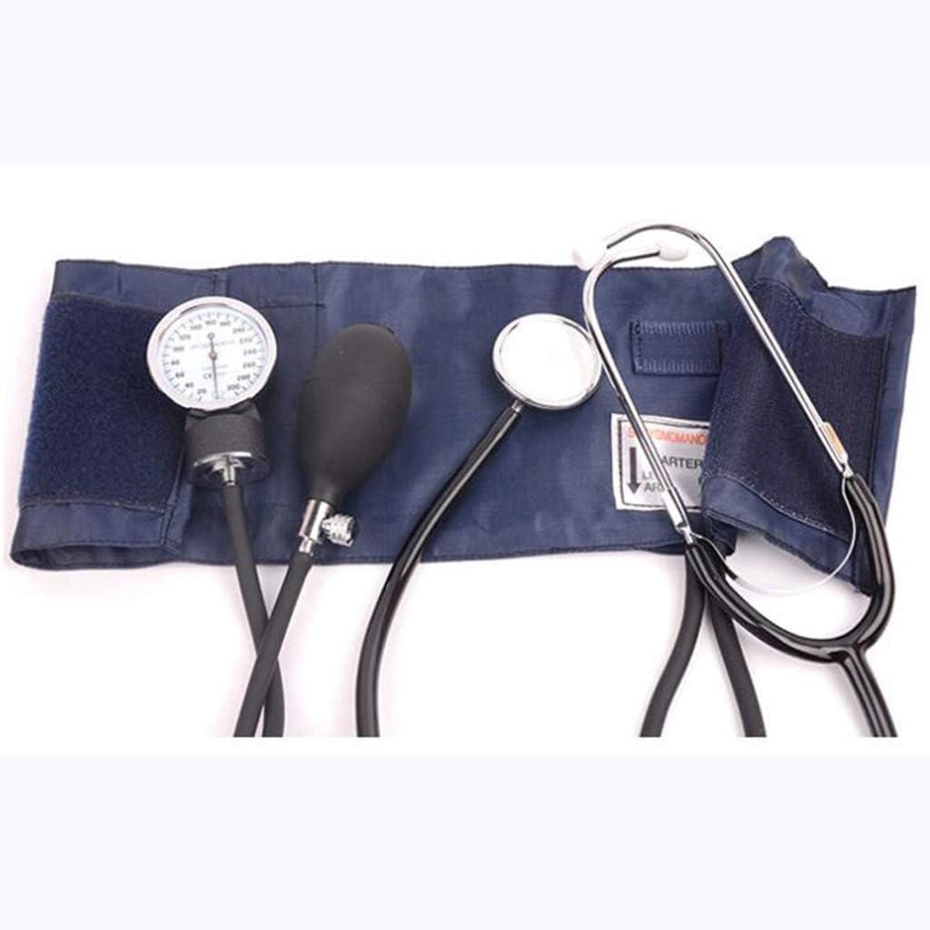 Life HS Puño de presión Arterial Manual Profesional – Esfigmomanómetro Manual sin Mercurio, Duradero, Apto para Toda la Familia, Disponible en una Variedad de tamaños