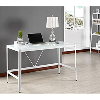 Home Garden Home Office Desks Metal Glass Top Home Office Computer Desk Kings Brand Furniture Stbalia Ac Id