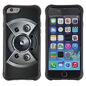 Be-Star único patrón Impacto Shock - Absorción y Anti-Arañazos Funda Carcasa Case Bumper Para Apple iPhone 6 Plus(5.5 inches)( Speaker Design )