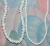Native Treasure - Kid's Set of 2 Irregular Puka Shell Necklaces