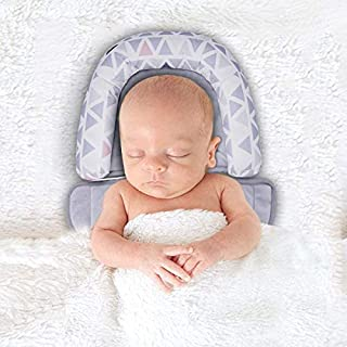 INFANZIA Baby Head Support,Newbron Infant Soft Neck Body Support Pillow for Car Seat,Stroller,Birth and Up