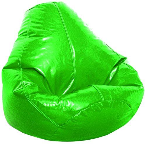 Amazon Com Adult Glossy Vinyl Bean Bag Green Kitchen
