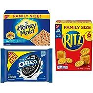 OREO, RITZ, & Honey Maid Snack Variety Pack, Family Size - 3 Packs