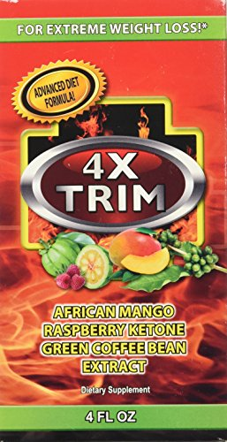 (Essential Source 4X Trim Extreme Weight Loss Bar, 4 Fluid Ounce)