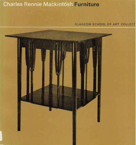 Some Examples of Furniture By Charles Rennie Mackintosh in the Glasgow School of Art Collection