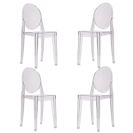Newzeal 4 sillas de Comedor de Estilo Estrella de Philippe ...