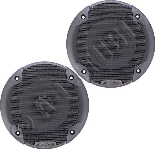 Brand New Alpine Spe-5000 5.25' 2 Way Pair of Car Speakers Totalling 400 Watts Peak / 100 Watts RMS
