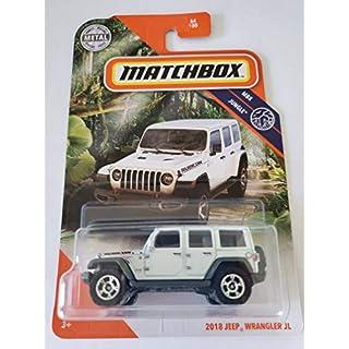 Matchbox 2020 MBX Jungle 2018 Jeep Wrangler JL, White 64/100