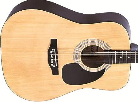Falcon FG100N - Guitarra acústica (cuerdas metálicas), Marrón ...