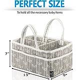 Baby Diaper Caddy Organizer Grey-Storage – Extra