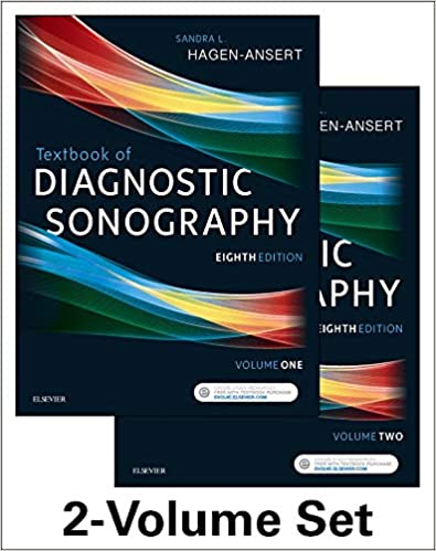 Textbook of Diagnostic Sonography 8th Edition, Textbook + Workbook