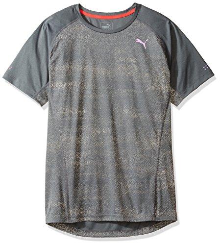 T-shirt da uomo Nightcat S / S, grigio medio grigio, medio