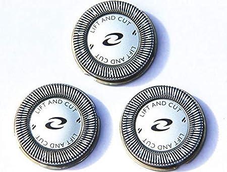 Recambio 3 uds cabezales cuchillas cortadoras para máquinas de afeitar Philips HQ5817 HQ5813 HQ6900 HQ6970 HQ6920 HQ6950 HQ6990