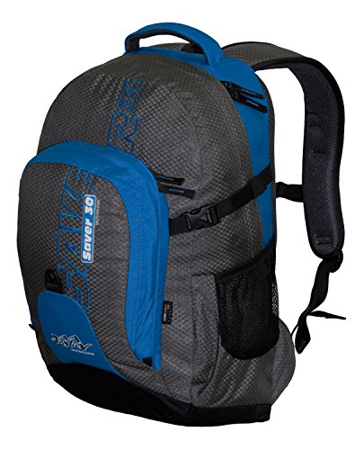 Laptoptasche 15 Zoll TASHEV SAVER 30 Notebook Rucksack (bis zu 15 Zoll - 33x29x4.5сm) Business-Rucksack vollständig aus Cordura (Schwarz / Blau) Schwarz / Blau uVSv2qZzCx