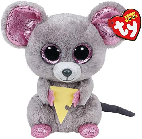 Alaska Stuffed Animals, Amazon Com Ty Beanie Boo Plush Squeaker The Mouse 6 Inch Toys Games