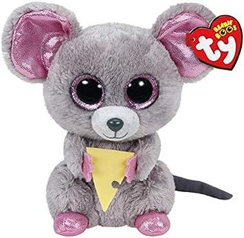 TY - Beanie Boos Squeaker, peluche ratón con queso, 15 cm (United Labels Ibérica 36192TY): Amazon.es: Juguetes y juegos