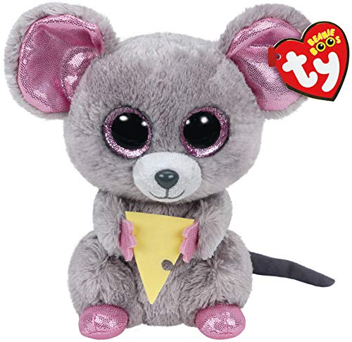 TY Beanie Boo Plush - Squeaker the Mouse 6-Inch