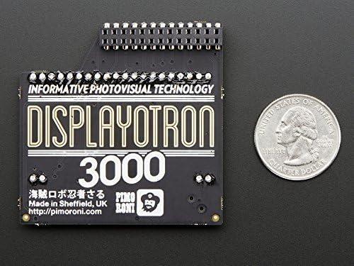 Pimoroni Display-O-Tron 3000 for Raspberry Pi Model B+ and A+ [並行輸入品]