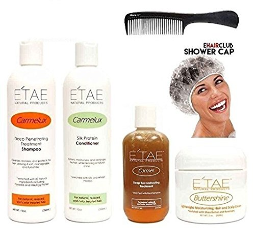 E'tae Natural Product Kit: Shampoo+Conditioner+Treatment+But