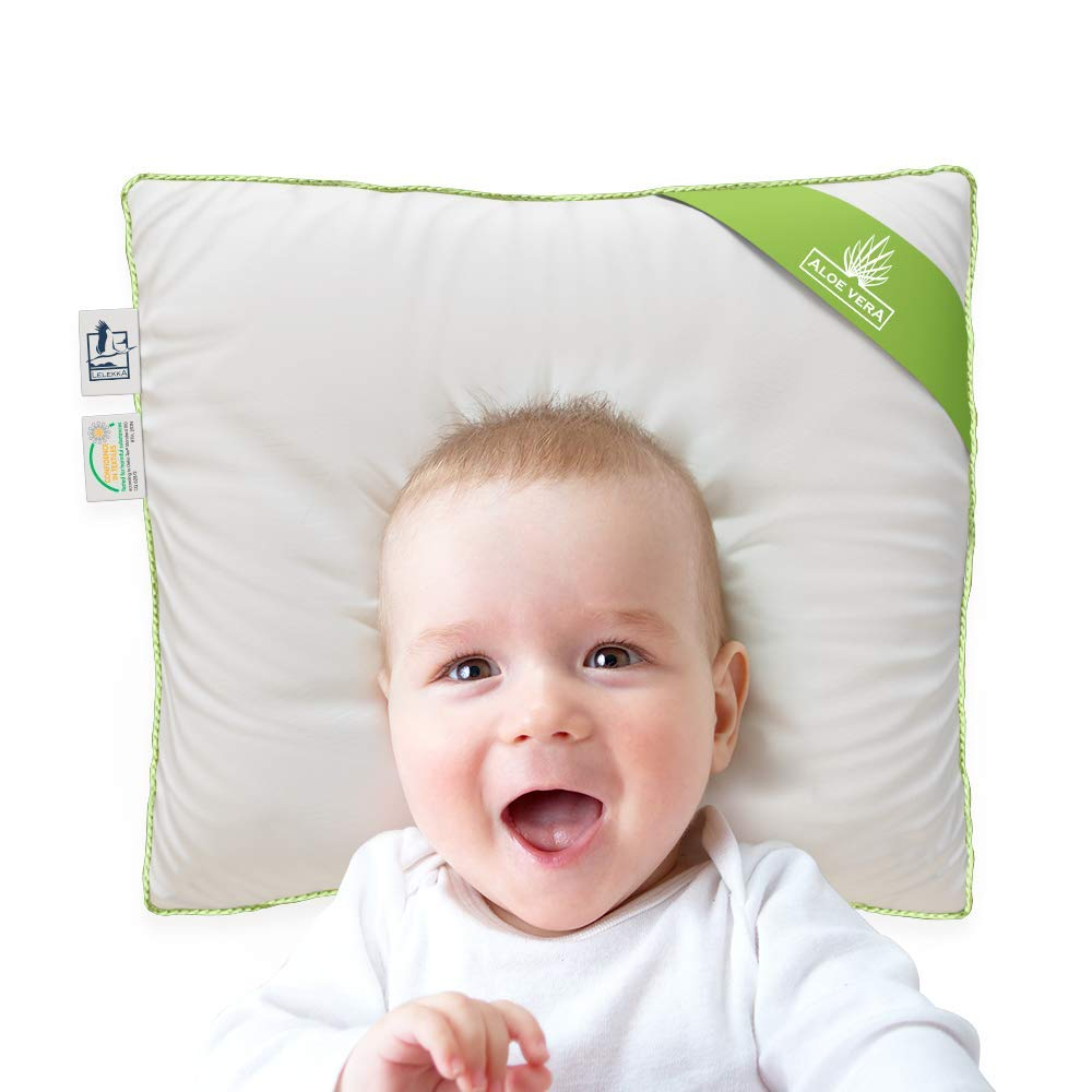 2 Bez/üge Baby-Kopfkissen gegen Verformung des Hinterkopfs Gr/ö/ße 3 LELEKKA Gr III Babykissen gegen Verformung /& Plattkopf inkl