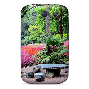 New Snap-on Jeffrehing Skin Case Cover Compatible With Galaxy S3- Forest Farm by icecream design