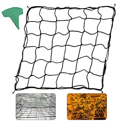 Homneer 2-Pack Grow Tent Net, Fits 4'x4' 8'x4' and More Size